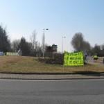 action rond point méximieux stop bugey - 21 février 2012