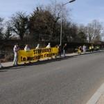 chaine humain 11 mars 2012 - feyzin - sdn bugey
