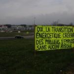 Action rond point ambérieu sdn bugey 7avril 2012